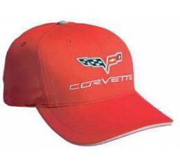 Corvette C6 Cap, Victory Red