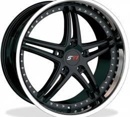 "Corvette Wheels, SR1 Bullet, Black With Chrome Lip, 18"" X 8.5""And 19"" X 10"", 1997-2013"