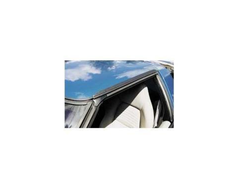 Corvette Roof Panel Rain Gutter Moldings, 1984-1996