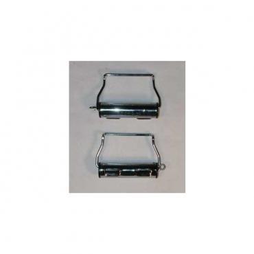 Seatbelt Solutions 1955-1957 Chevy Seatbelt Retractors 6466WINDERS | Chrome