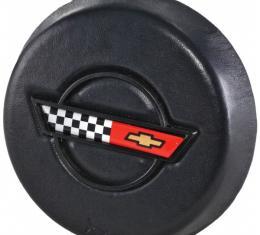Corvette Horn Button, With Emblem, 1986-1989