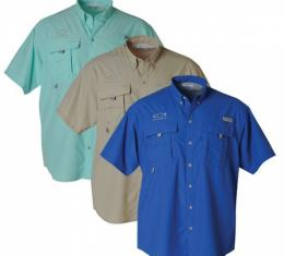 Men's Columbia Bowtie Bahama Shirt - Turquoise