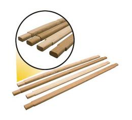 Model A Ford Top Wood Set - Standard Phaeton - 4 Pieces - Straight Wood