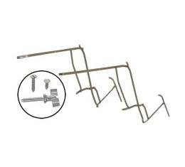 Top Iron Set - Painted & Stainless Steel - Ford Phaeton