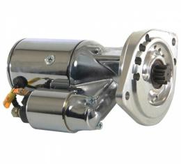 Ultra-High-Torque - 250+ Ft. Lb. - Starter, Ultra Torque, Chrome, 77-79 Ford V8 Engines with 5-Speed Manual Transmission