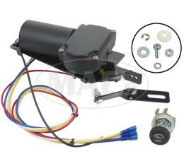 Electric Wiper Motor Conversion Kit - 12 Volt, 1942-Early 1947