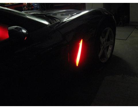 Corvette Fender Cove LED Kit, 2005-2013