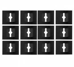 Door Panel Clips, Upper To Lower, Small, 72-77