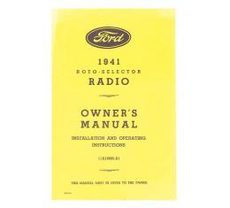 Radio Installation Handbook - Fold-Out Brochure - Ford
