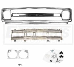 Chevy Truck Front Grille Kit, With Chrome Insert, Good Quality, 1969-1970