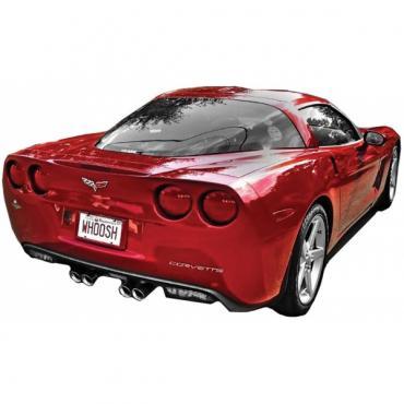 Corvette Rear Urethane Bumper, 2005-2013