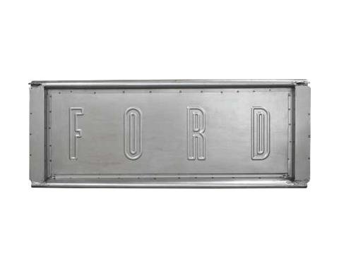 Ford Pickup Truck Tailgate - Has Stamped-In F-O-R-D Letters- Foreign Made - F100 & F250 Styleside Bed