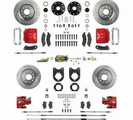 Big Brake Four Wheel Disc Conversion, Manual Brakes,