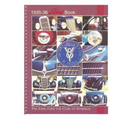 The 1935-1936 Ford Book - 164 Pages