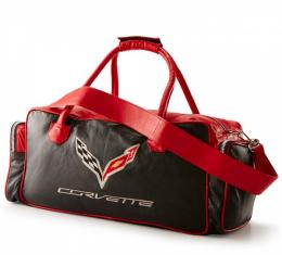 Corvette C7 Duffle Bag - Black/Red