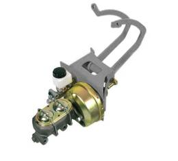 TCI Engineering Power Brake/Clutch Booster/Master Cylinder/Pedal/Bracket Kit, Universal Style