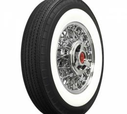 """Ford Tire, Original Appearance, Radial Construction, 7.50 x14"""" With 2-3/4"""" Whitewall"""
