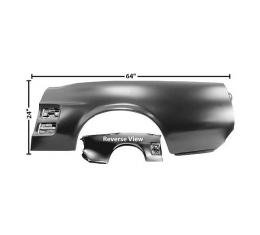 Ford Mustang Quarter Panel - O.E.M. Style - Left - With Holes For Scoops - Convertible