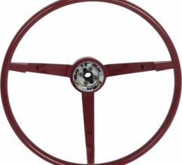Ford Mustang Steering Wheel - 3 Spoke - Red - For Car With An Alternator