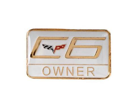 Corvette C6 Owner Lapel Pin