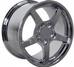 Firebird 18 X 9.5 C5 Style Deep Dish Reproduction Wheel, Chrome, 1993-2002