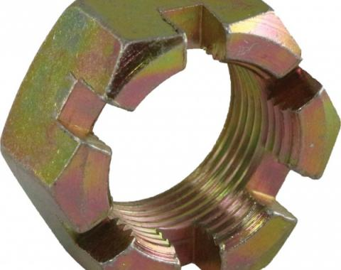 Corvette Wheel Spindle Flange Nut, Front/Rear, 1963-1982