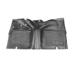 Front Floor Mat - Black Rubber - Ford Only