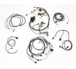 Full Size Chevy Wiring Harness Kit, With Generator & Automatic Transmission, Small Block, Impala 2-Door Hardtop, 1961