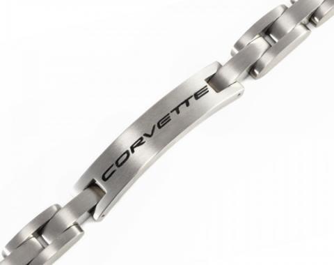 """Corvette C5 Men's Titanium Bracelet, 8.75"""""""