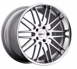 """Corvette Wheel, Cray Hawk 20x12.5"""" Silver, 2006-2013 Z06 & Grand Sport"""