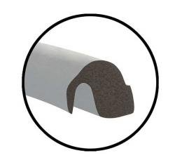 Trunk Lid Seal - Hollow Core Design With Bonded Corners - Ford Tudor & Ford Fordor Sedan