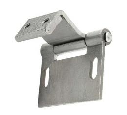 Windshield Frame To Body Hinge - Stamped Steel - Ford Closed Car