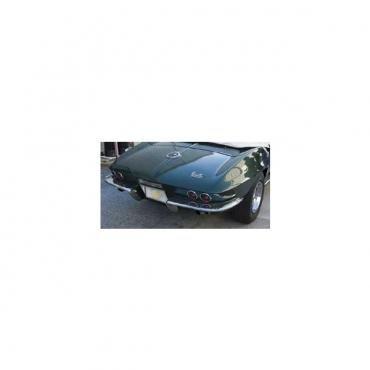 Corvette Rear End, Convertible, 1 Piece, Ecklers, 1967