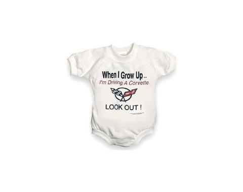 "Children's ""When I Grow Up"" Jumper, With C5 Logo, 24 MonthsWhite"