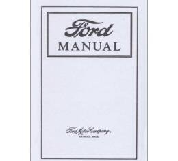 Ford Manual - 64 Pages - 26 Illustrations