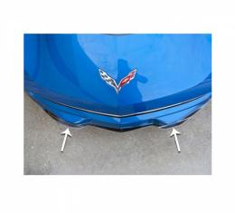 American Car Craft Lip Spoiler, Carbon Fiber Wrapped| 052058 Corvette Stingray 2014-2017