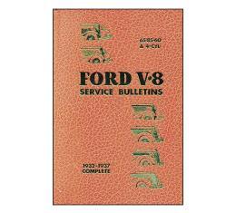Ford V8 Service Bulletins - 544 Pages