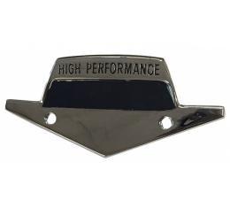 'High Performance' K-Code Fender Emblem Backers