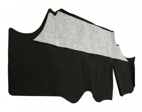 Firebird Trunk Mat With Jute Pad Black Carpet 1978-1981