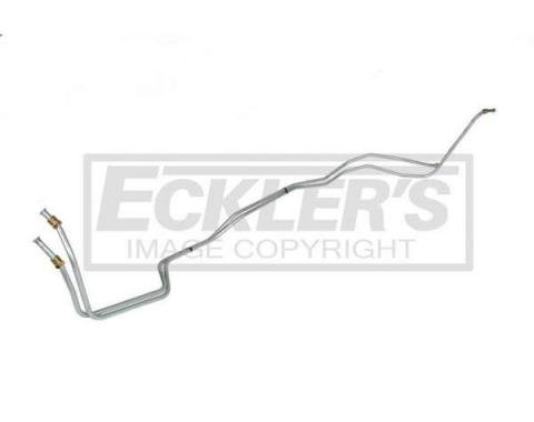 Chevelle Transmission Cooler Line, T350, 5/16 Inch, Stainless Steel 1973-1977