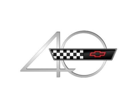Corvette Decal, 40th Anniversary, 1993