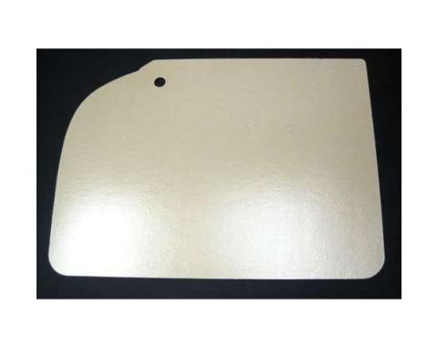 Chevy Door Panel Boards, Styleline, Rear, 1949-52