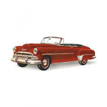 Chevy Vent Glass, Hardtop And Convertible, 1949-1952
