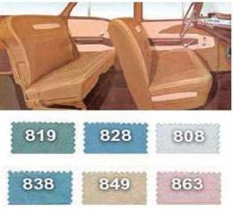 Full Size Chevy Preassembled Interior Door Panel & Quarter Trim Panel Set, Nomad Wagon, 1958