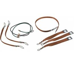 Lectric Limited Radio Ground Strap Kit  VGS6162 Corvette 1961-1962