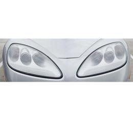Corvette Lenses, Headlight, Left & Right, 2005-2013