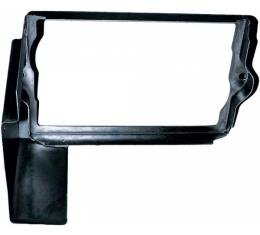 Corvette Battery Tray Shield/Retainer Black, 1963-1966