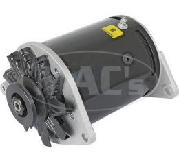 PowerGen - 12 Volt Negative Ground - 5/8 Pulley - Chrome Case - 2 Wire Type - Ford & Mercury Flathead V8