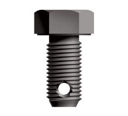 Hex Head Bolt With Drilled Shank - 3/8 - 24 X 3/4