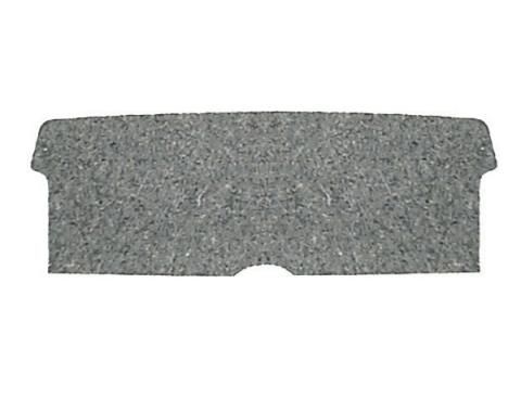 Camaro Rear Seat To Trunk Divider Hardboard, With Jute Backing, 1967-1969